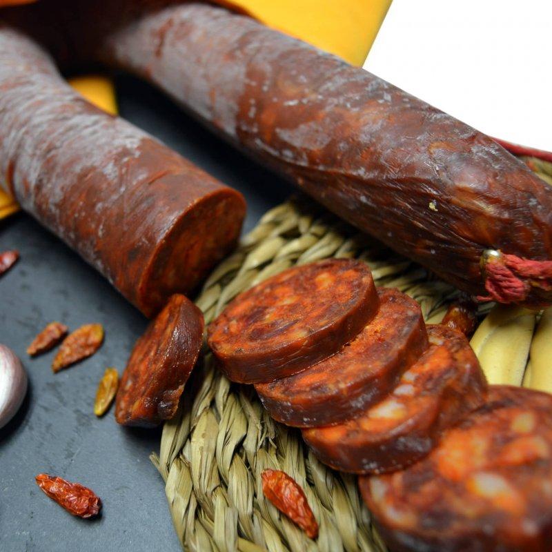 Muestra fotografía de Chorizo de cerdo muy picante
