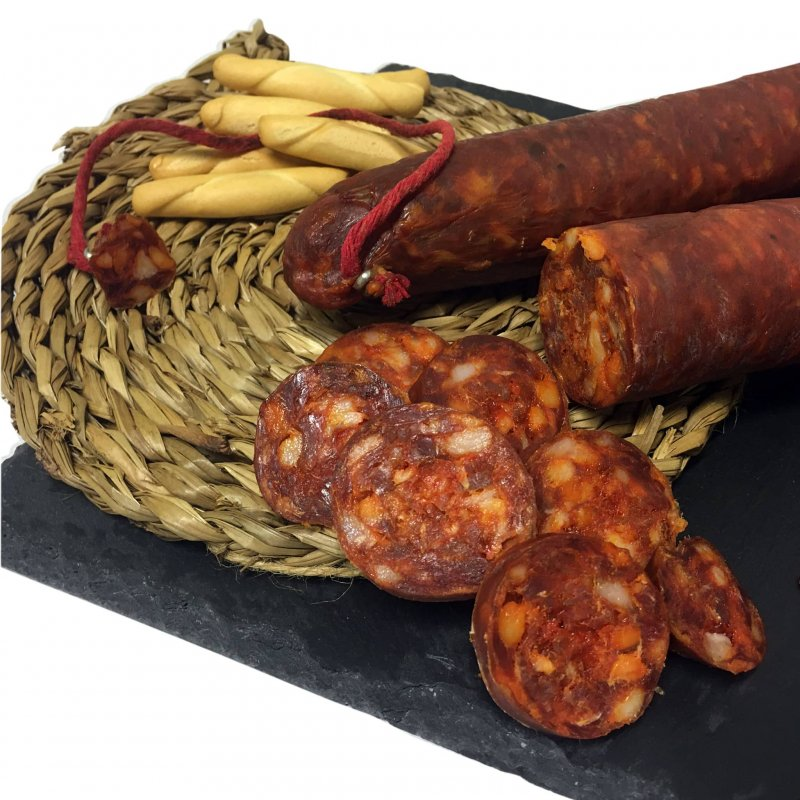 Muestra fotografía de Chorizo de cerdo picante