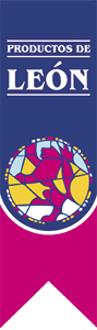 muestra logotipo del sello de calidad productos de León